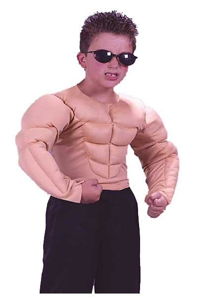 Child Muscle Shirt Costume