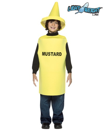 Child Mustard Costume - Lightweight