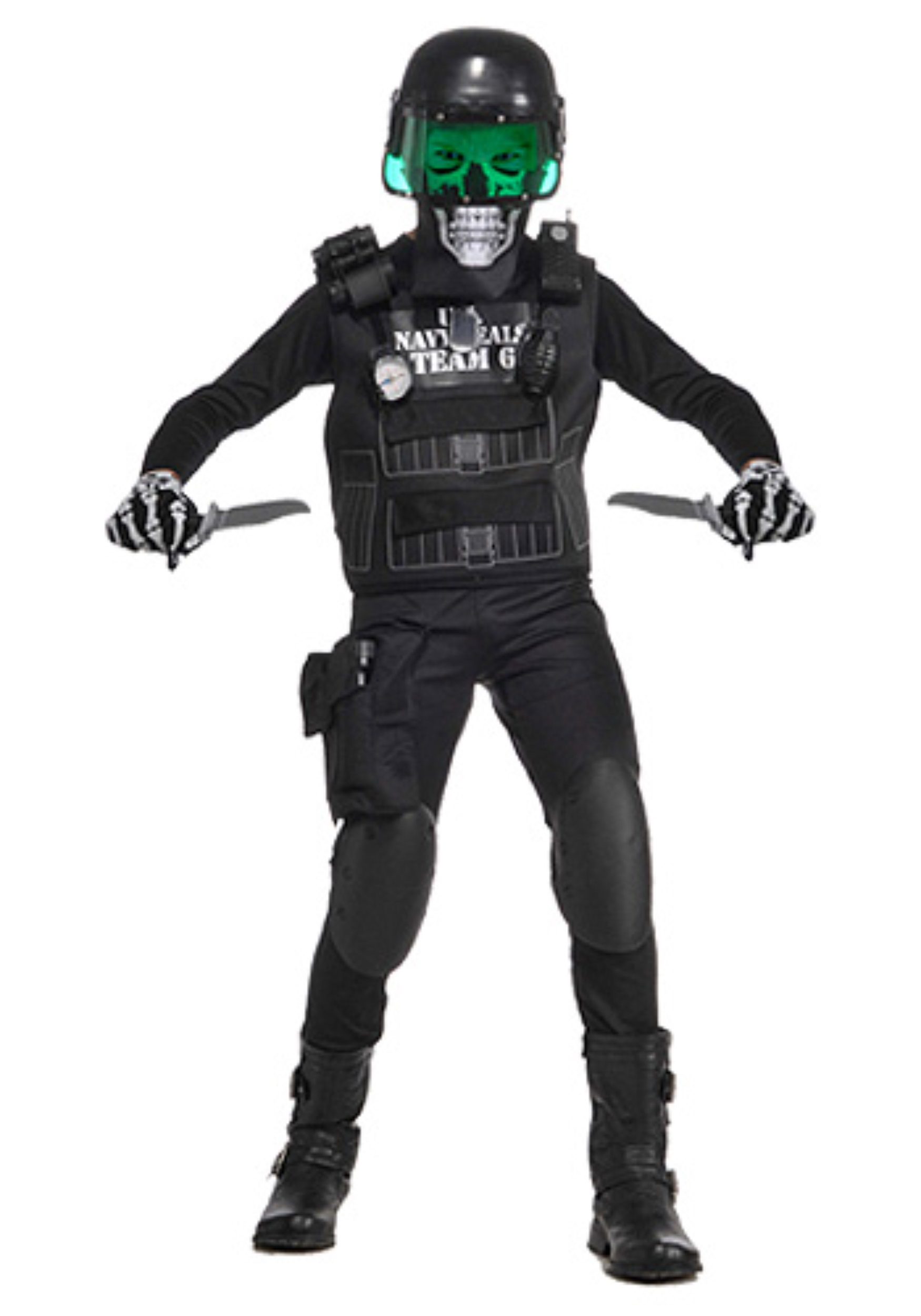 Child Navy Seal Black Team 6 Costume