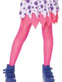 Child Neon Pink Fishnet Tights