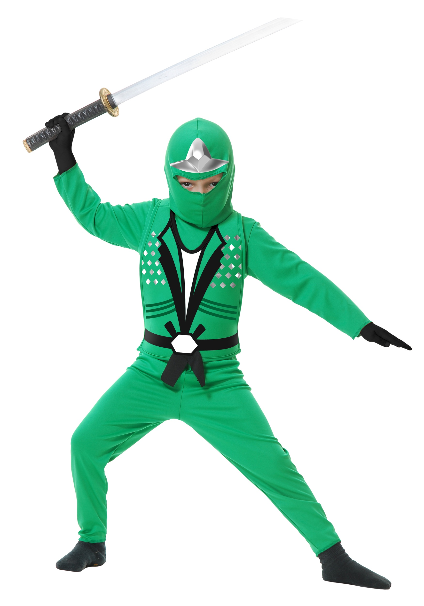 Child Ninja Avengers Series II Green Costume