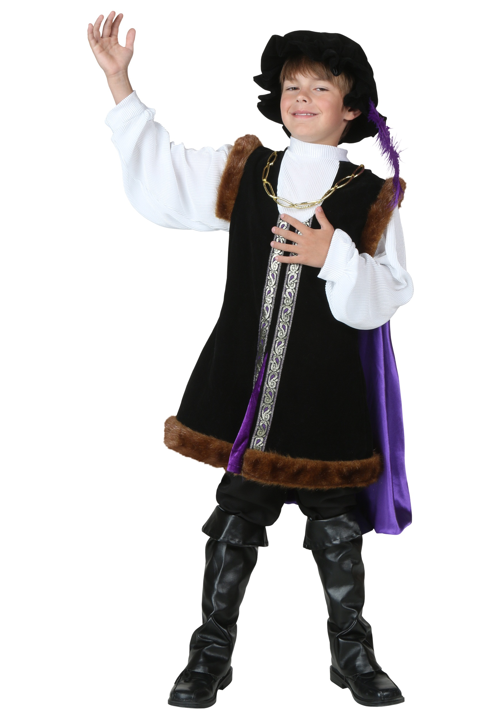 Child Noble Man Costume