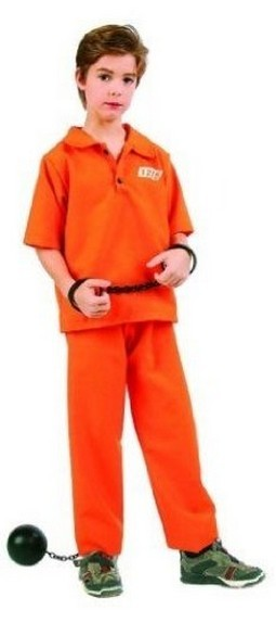 "Child ""Not Guilty"" Costume (Boy)"