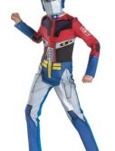 Child Optimus Prime Transformers Costume