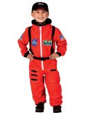 Child Orange Astronaut Costume