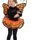Child Orange Butterfly Costume