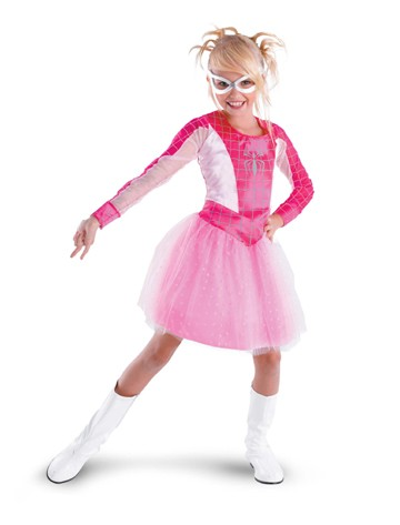 Child Pink Spidergirl Costume