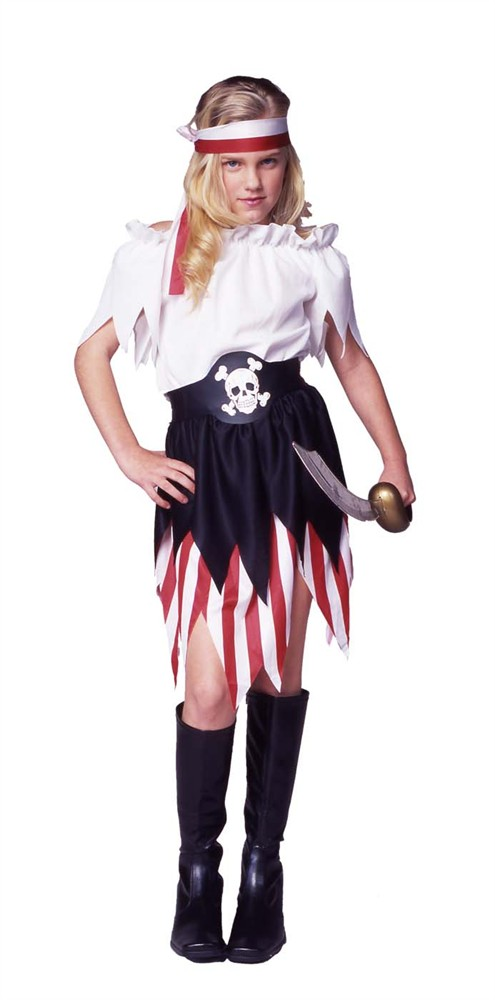 Child Pirate Wench Costume
