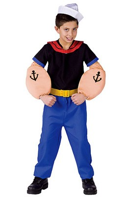 Child Popeye Costume
