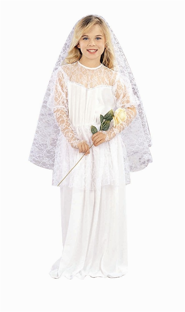 Child Pretty Bride Costume