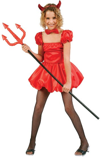 Child Pretty Devil Costume