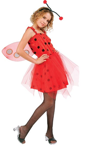 Child Pretty Ladybug Costume
