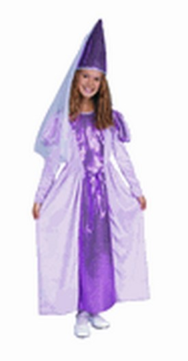 Child Princess Lavender Costume