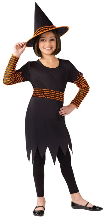 Child Pumpkin Patch Witch Costume