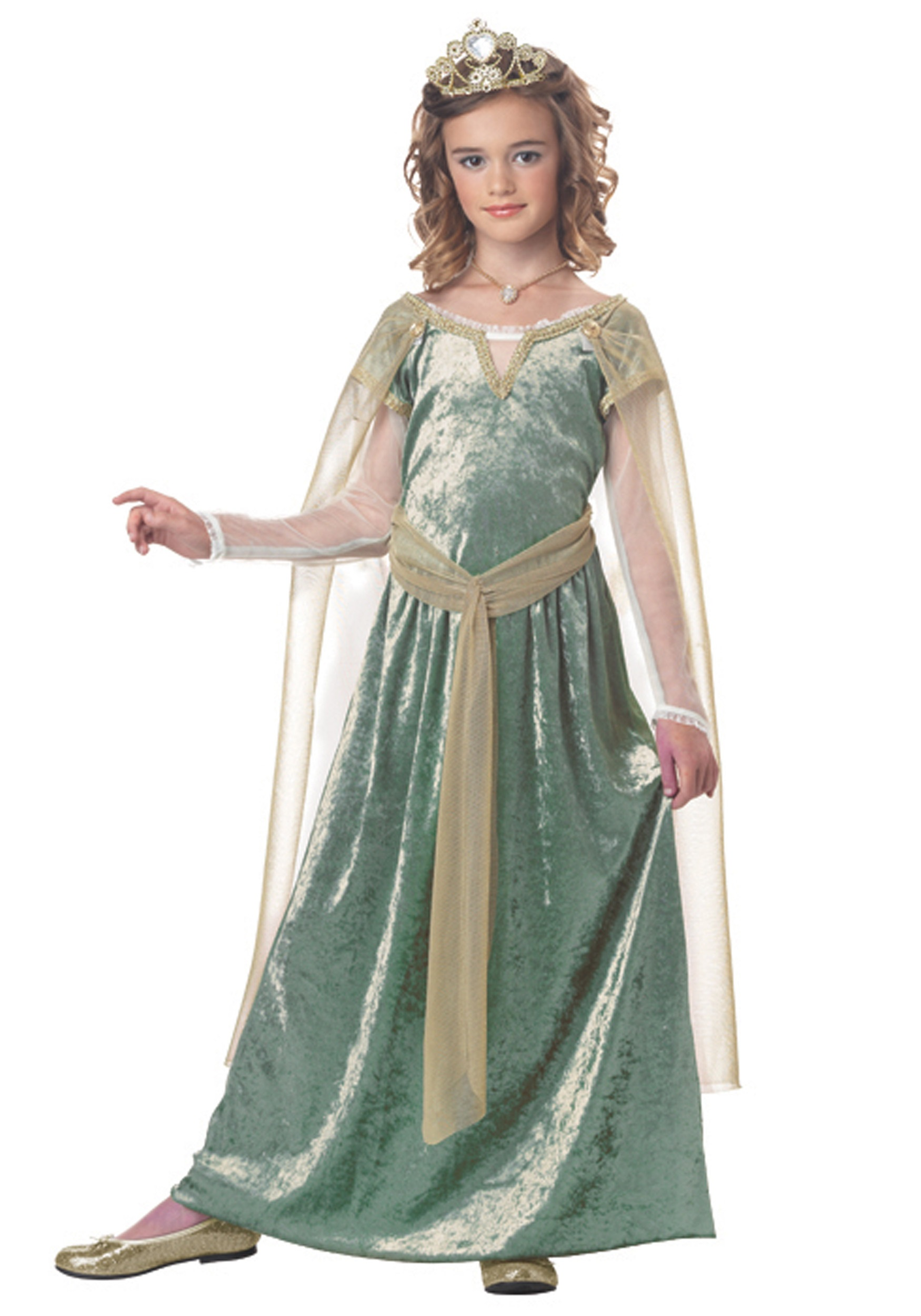 Child Queen Guinevere Costume