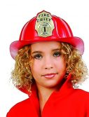 Child Red Fire Fighter Helmet