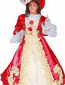 Child Red Princess Dress Costume