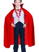 Child Red Taffeta Cape