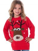 Child Reindeer Christmas Sweater