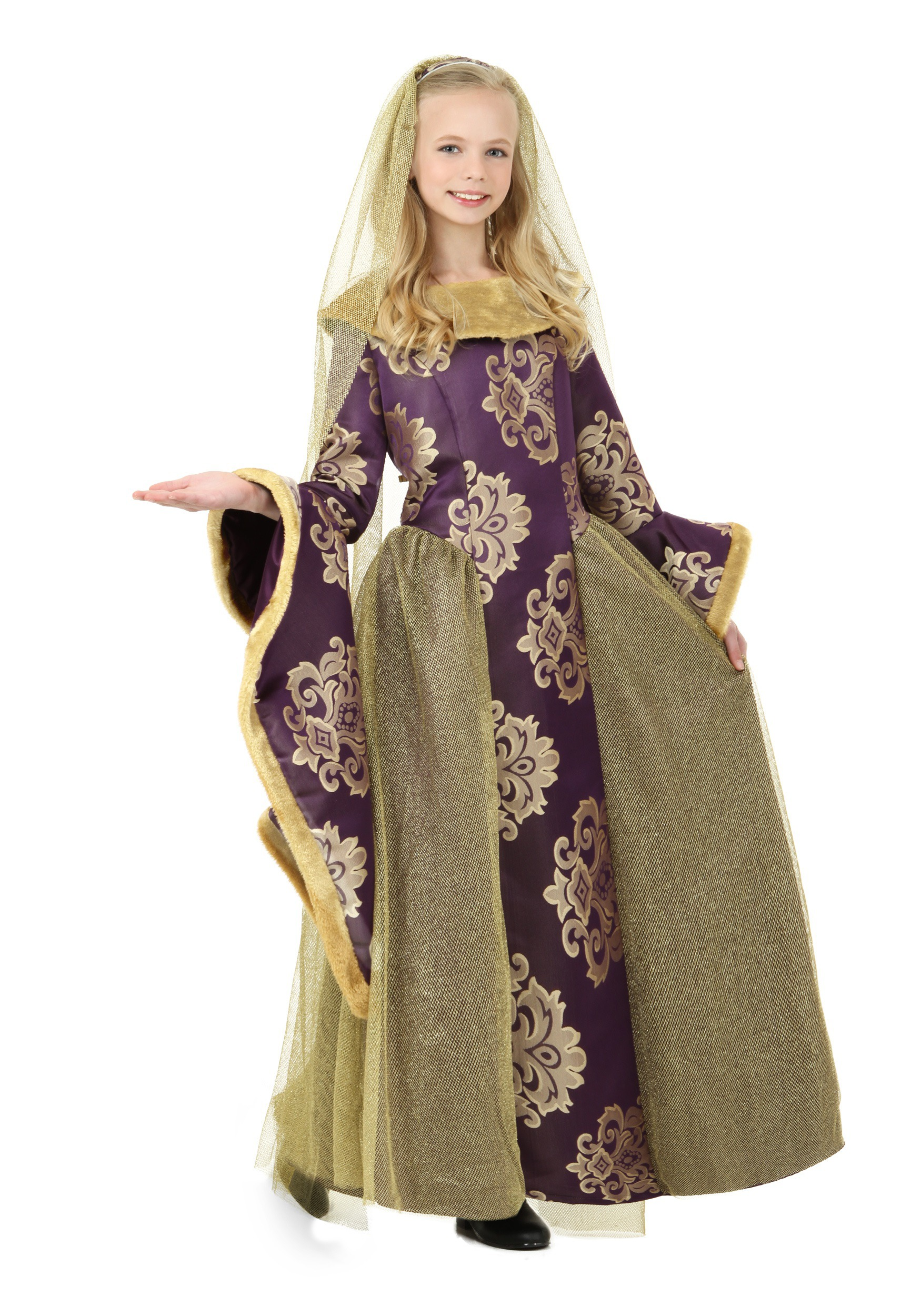 Child Renaissance Queen Costume