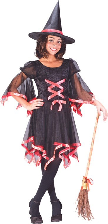 Child Ribbon Witch Costume