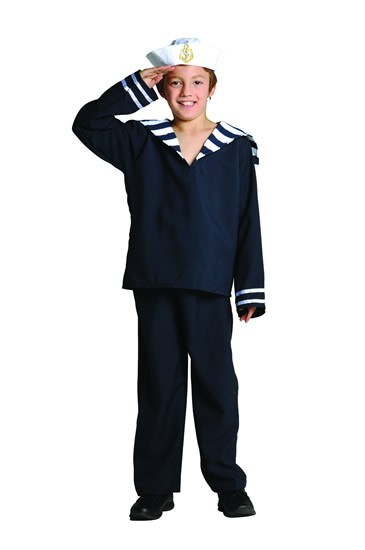 Child Sailor Boy Costume