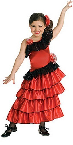 Child Spanish Princess Costume