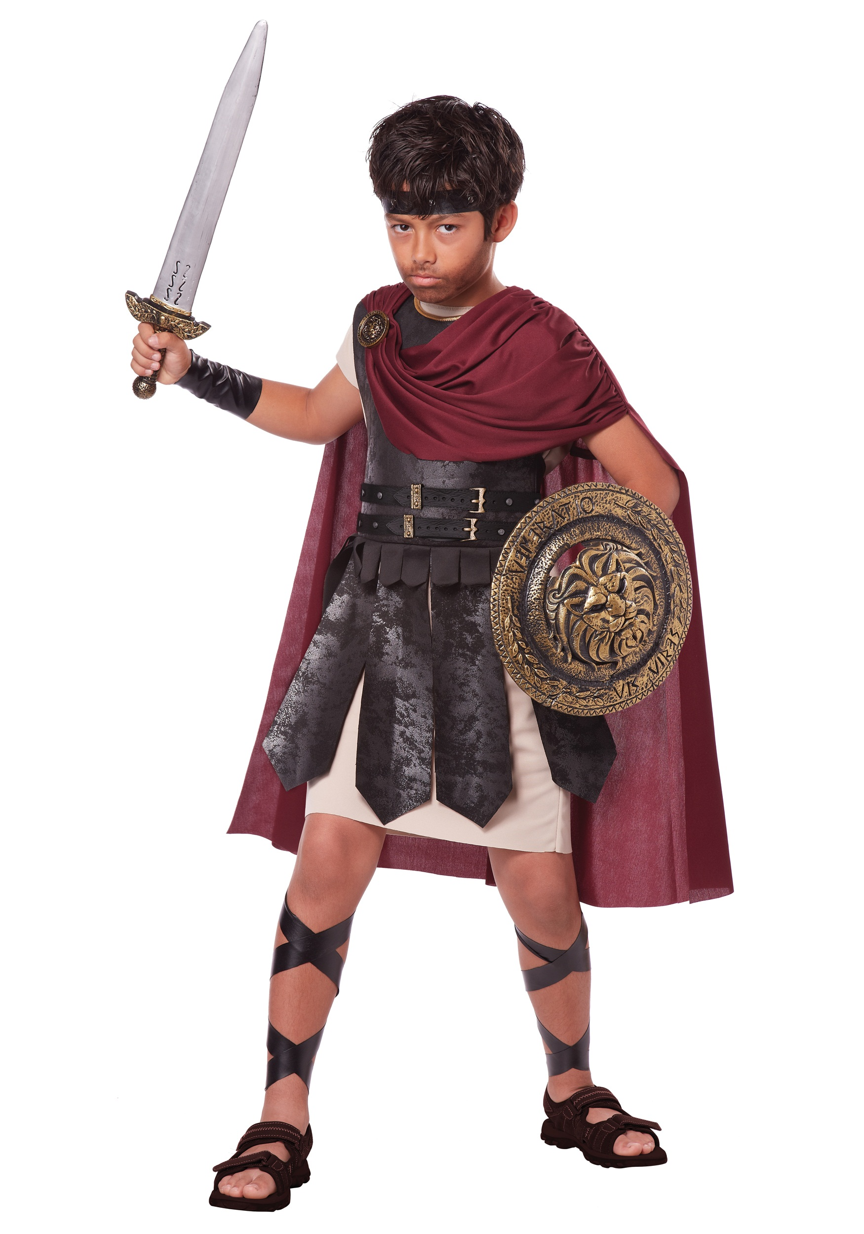 Child Spartan Warrior Costume