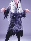 Child Spider Web Gauze Ghost Costume