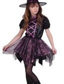 Child Spider Witch Costume