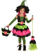 Child Spiderina Witch Costume