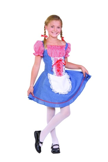 Child Square Dance Costume