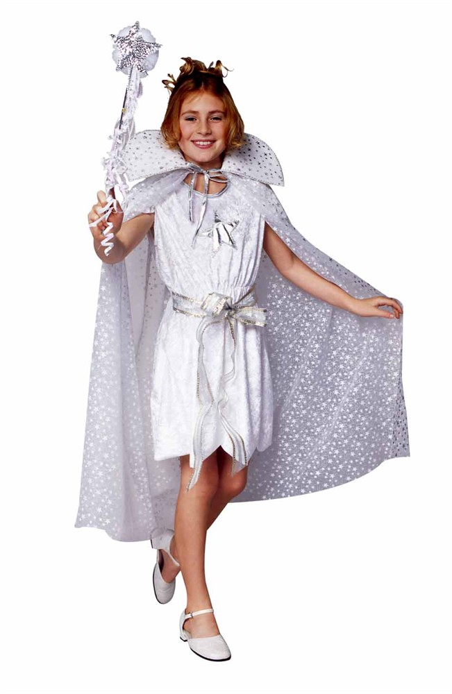 Child Star Angel Costume w/ cape