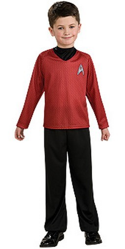 Child Star Trek Red Shirt Costume