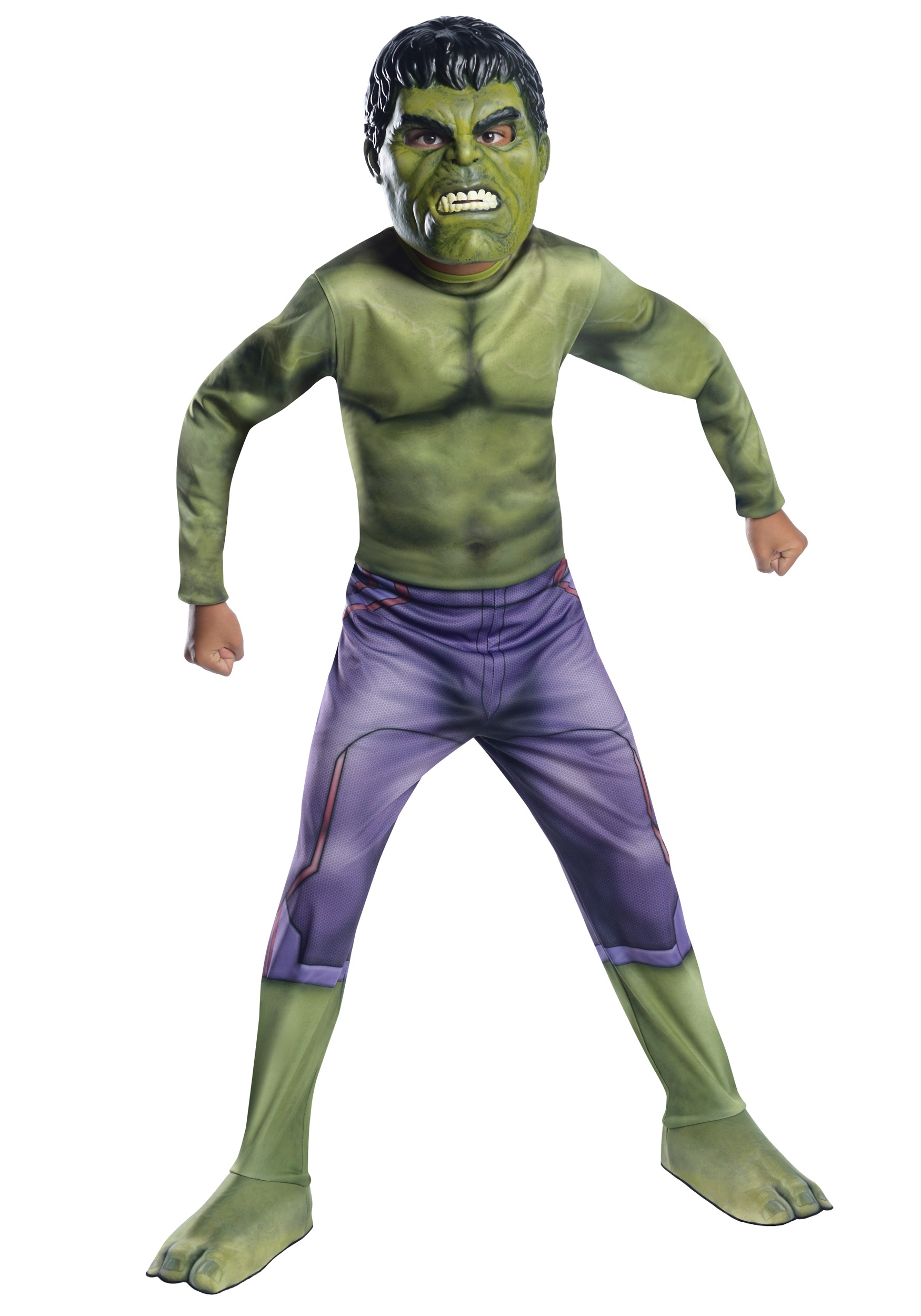 Child The Hulk Avengers 2 Costume