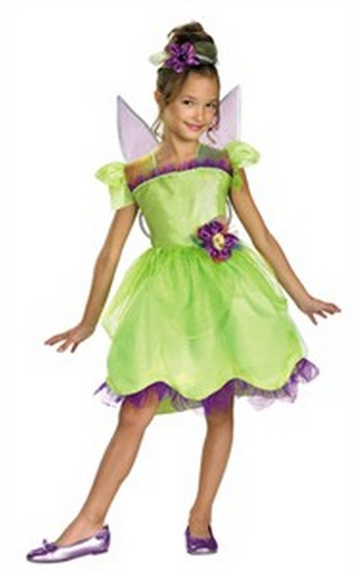 Child Tinkerbell Costume - Rainbow Deluxe