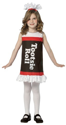 Child Tootsie Roll Costume Dress - 4-6