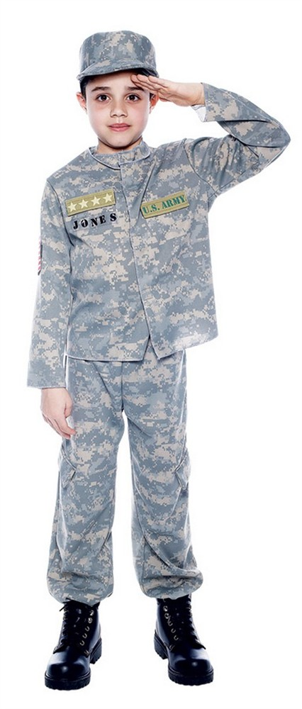 Child US Army Officer Costume