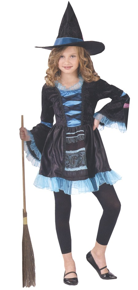 Child Victorian Witch Costume