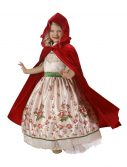 Child Vintage Red Riding Hood Set