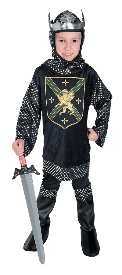 Child Warrior King Knight Costume