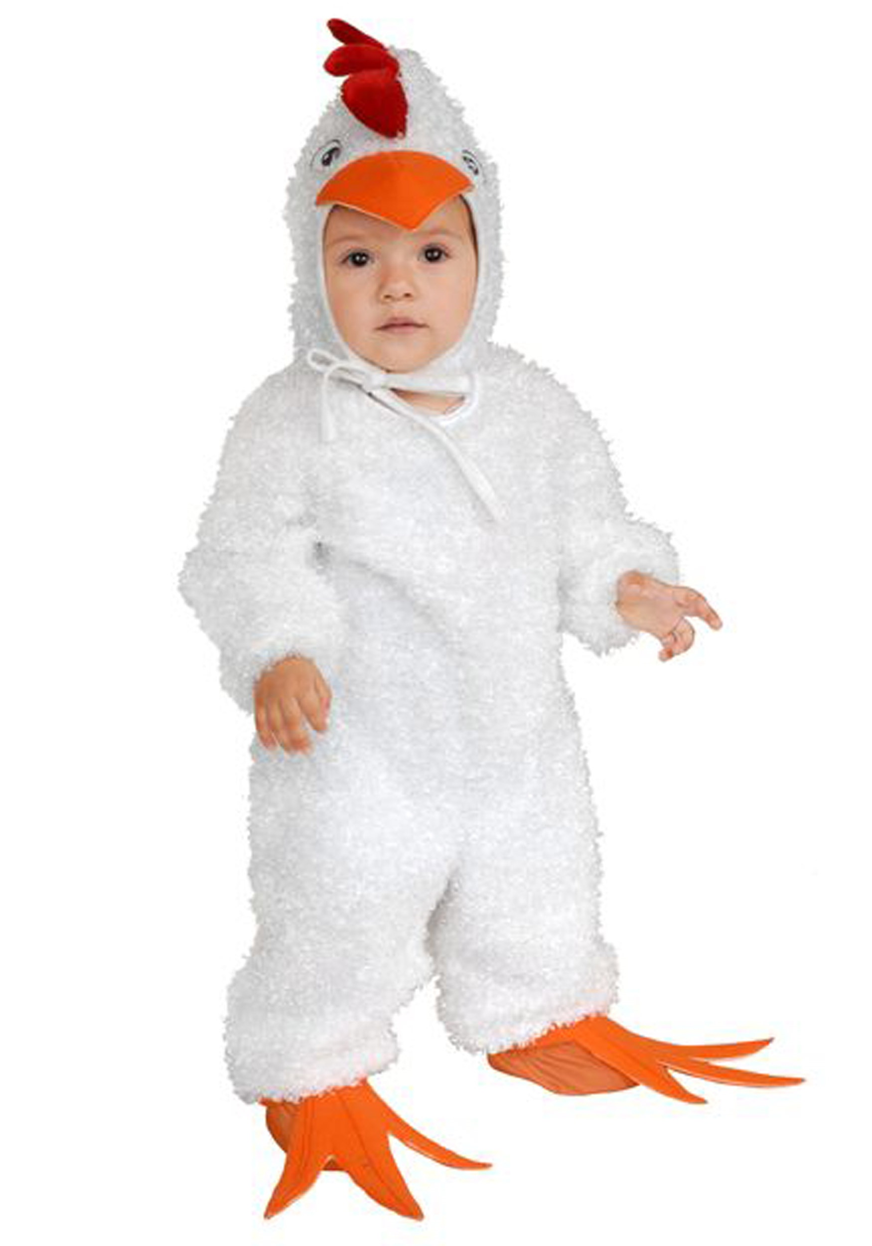Child White Rooster Costume