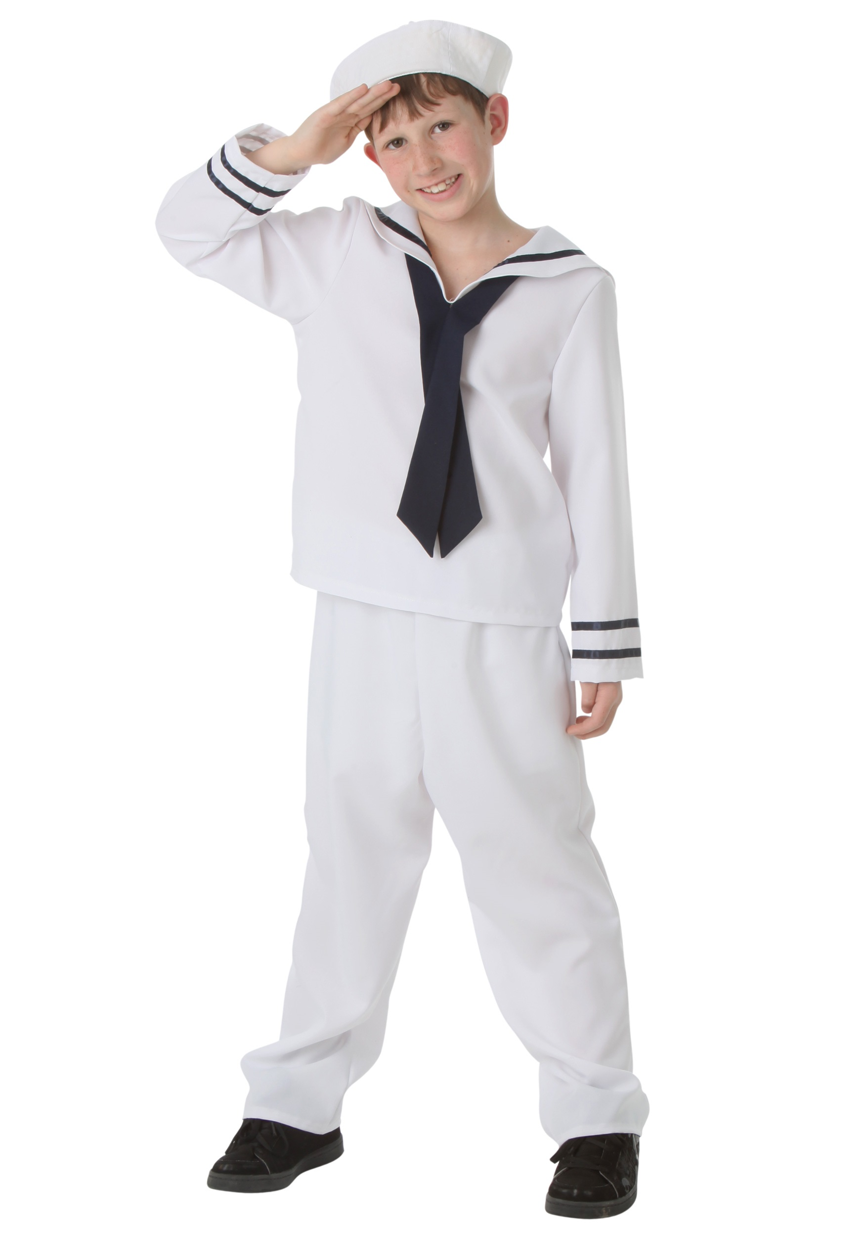 Child White Sailor Costume