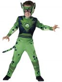 Child Wild Kratts Green Cheetah Costume