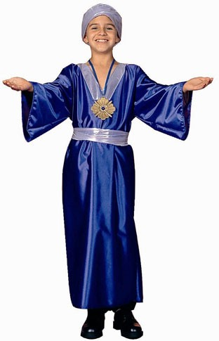 Child Wiseman Costume (blue)