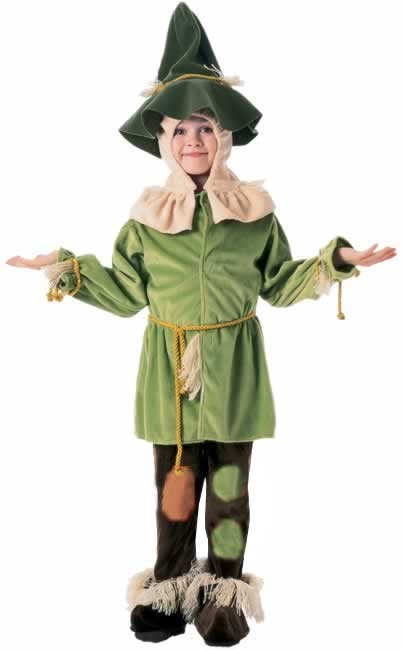 Child  Wizard of Oz Scarecrow Costume