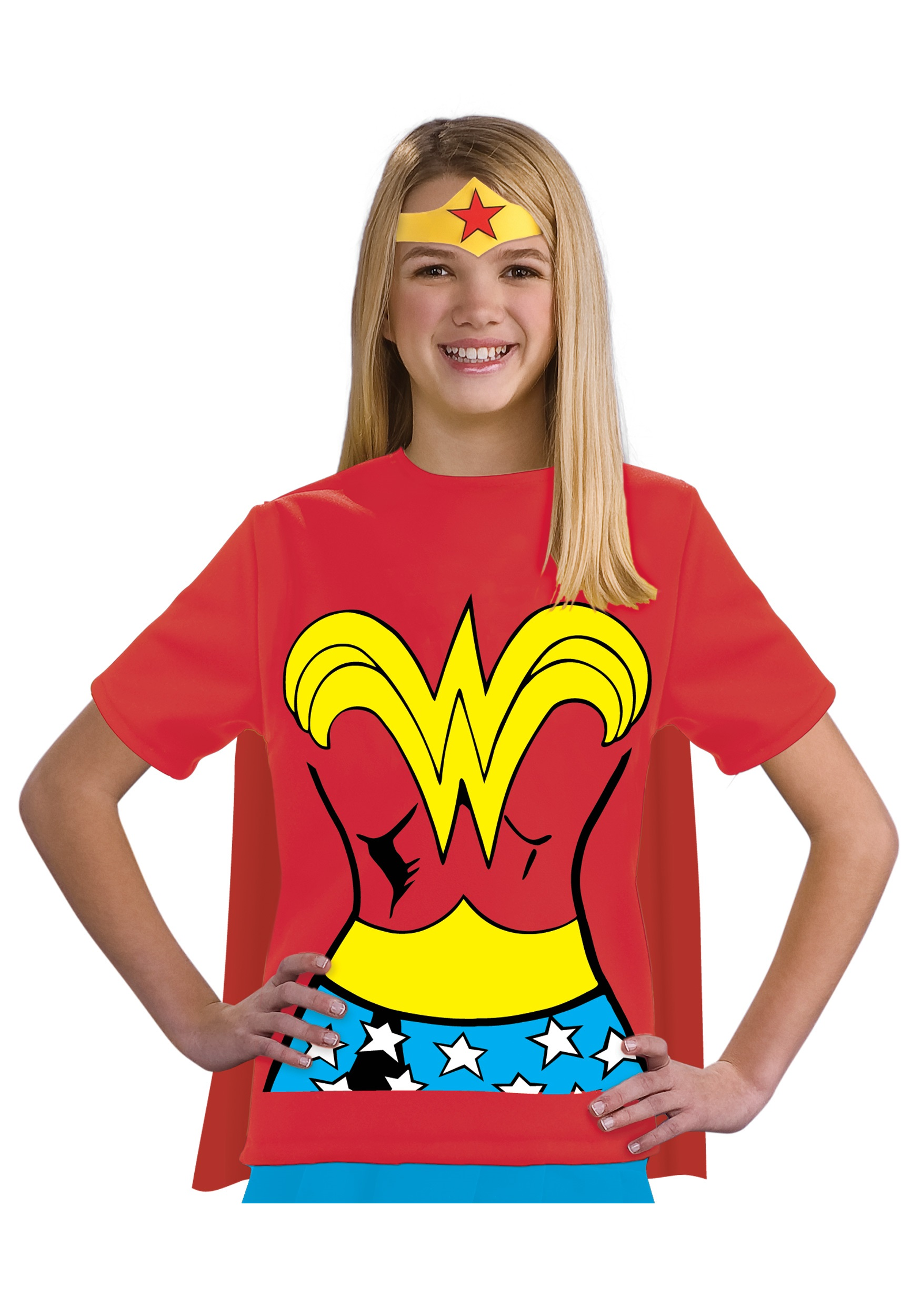 Child Wonder Woman T-Shirt Costume