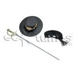Child Zorro Accessory Set