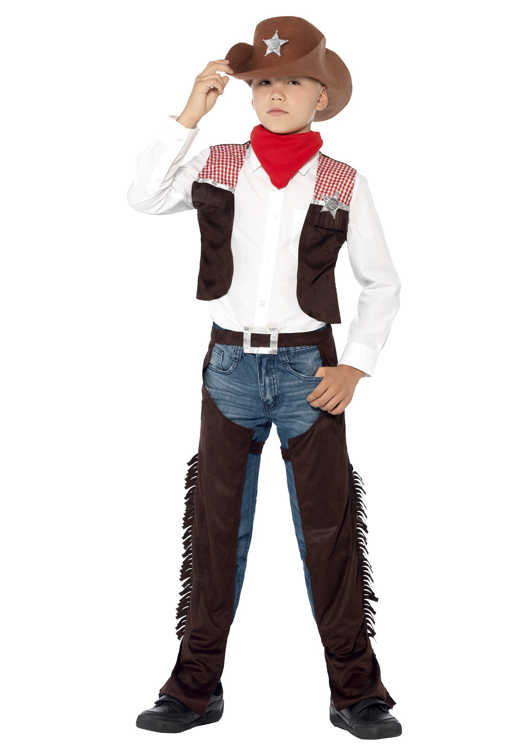 Child's Deluxe Cowboy Costume