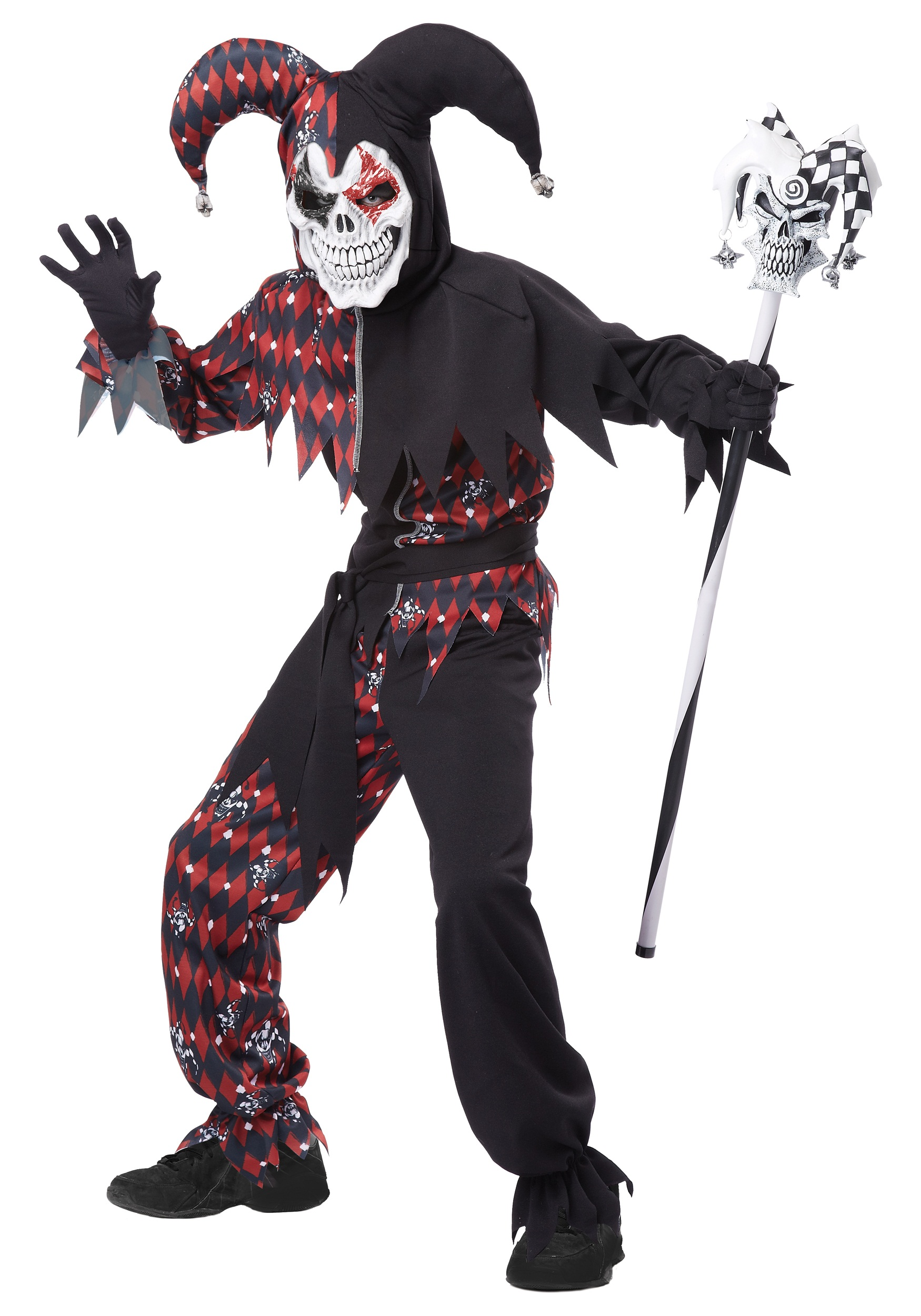 Child's Sinister Jester Costume